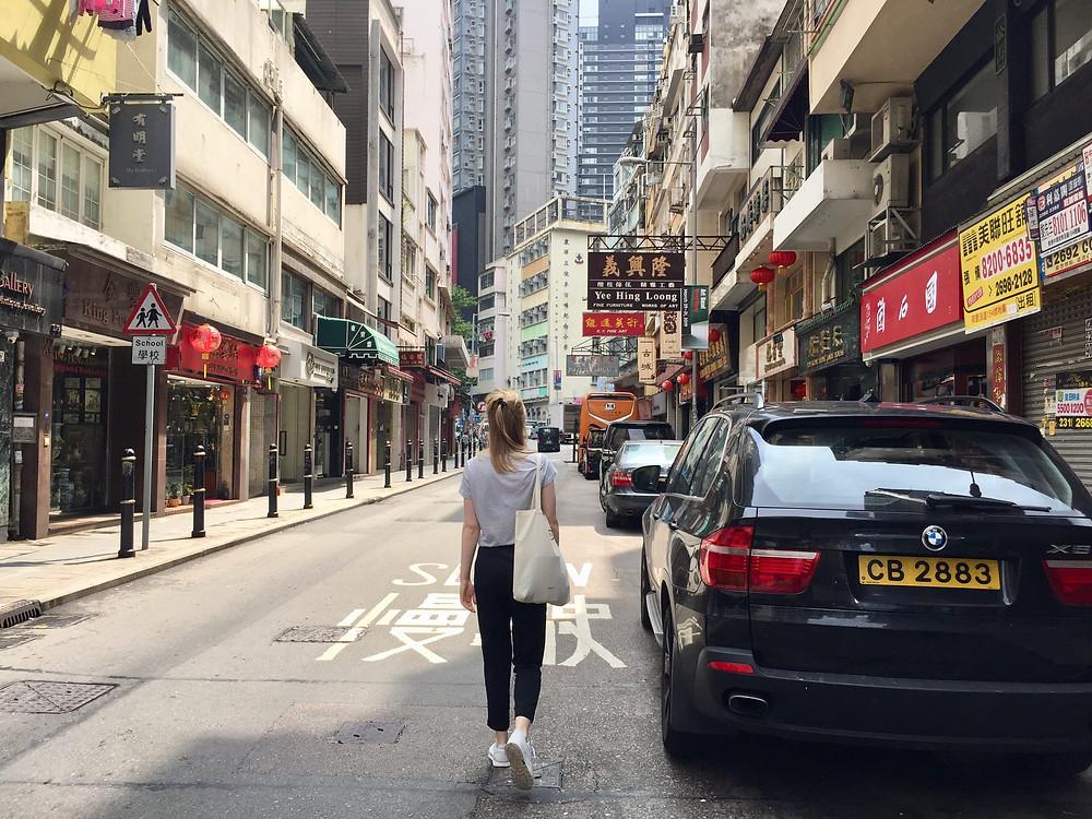 Oosters en westers eten in Hong Kong