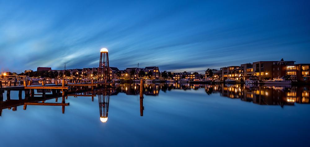 De skyline van Sneek tijdens je vakantie in Friesland