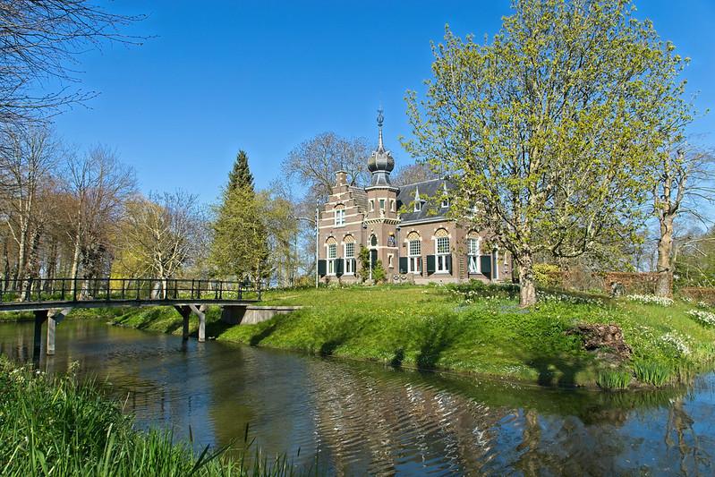 Het landgoed van Koarnjum is een perfecte plek om te kamperen tijdens je vakantie in Friesland