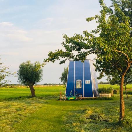 Slapen onder de sterren in Nederland