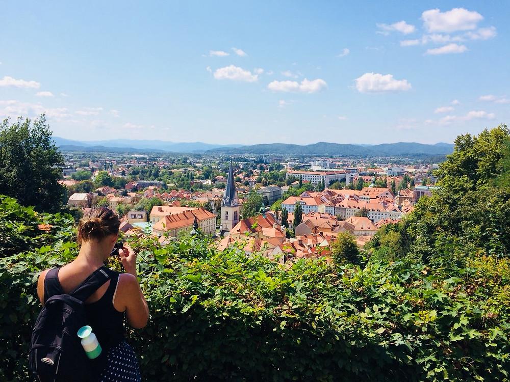 Ljubljana bezoeken met de trein