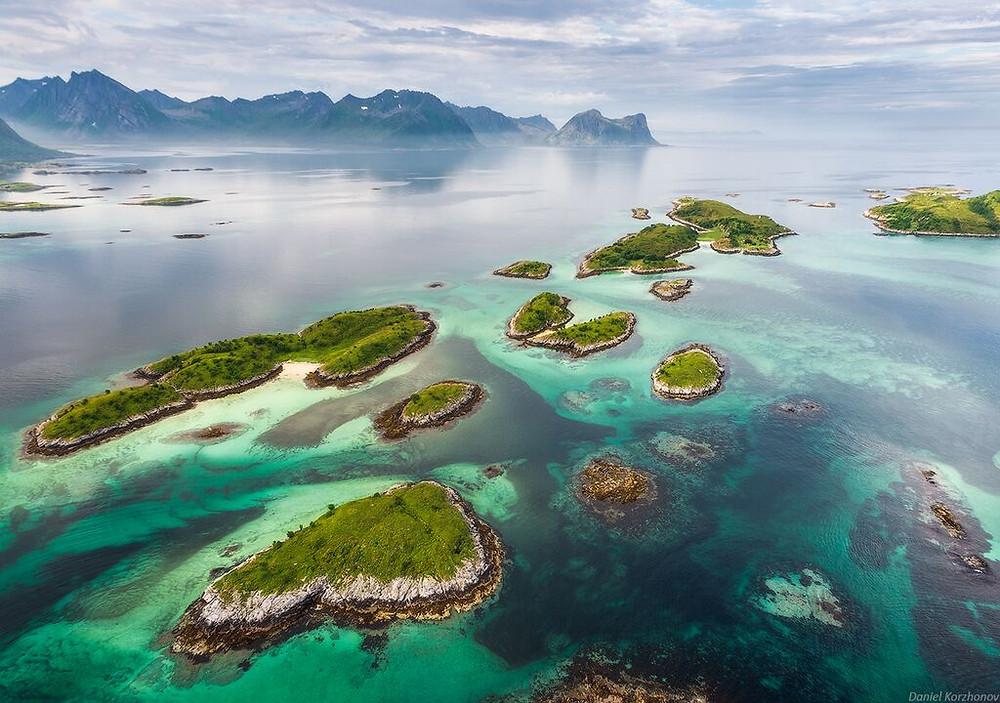 Duurzaam reizen detourism noorwegen