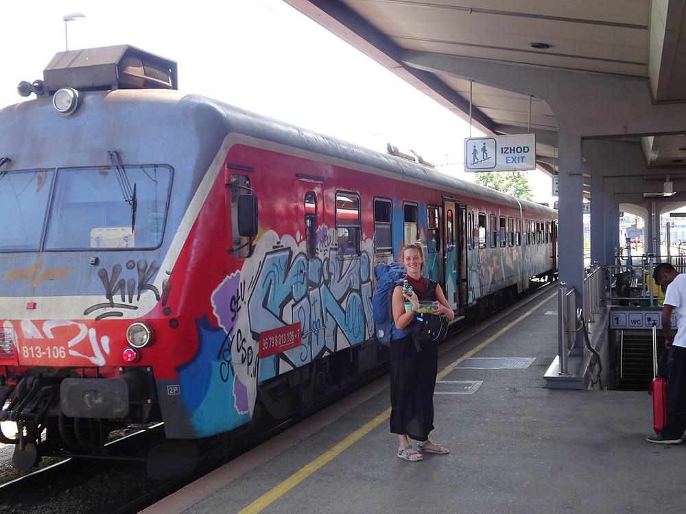 Reizen met de trein door Slovenië
