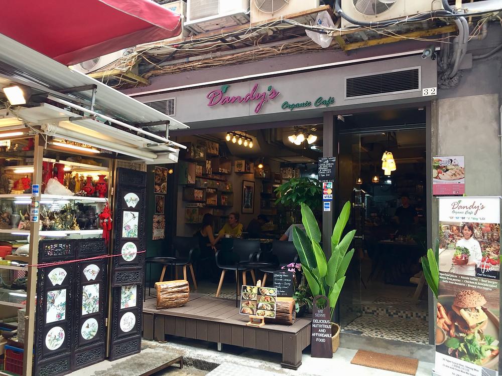Organische restaurants in Hong Kong