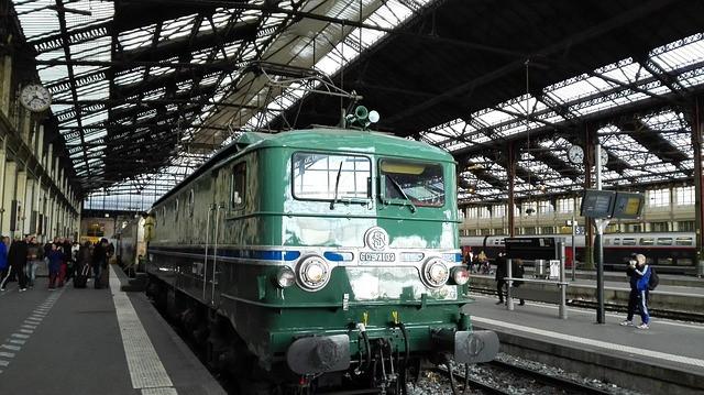 Overstappen met de trein in Parijs