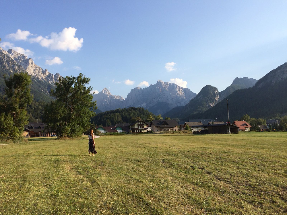 Treinreizen door Europa naar Slovenië, Julische Alpen
