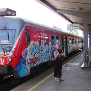 Met de trein naar Slovenië