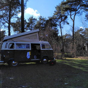 Op avontuur met een elektrisch Volkswagen camperbusje