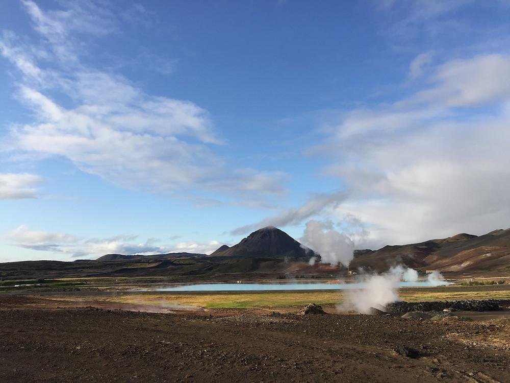 IJsland is vanwege de geothermische energie een duurzaam land