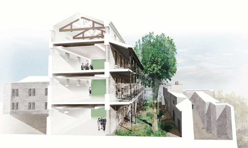 Jardins du Couvent Saint-Césaire - Arles (13) Fluor Architecture Julie Courcelle Paysagiste