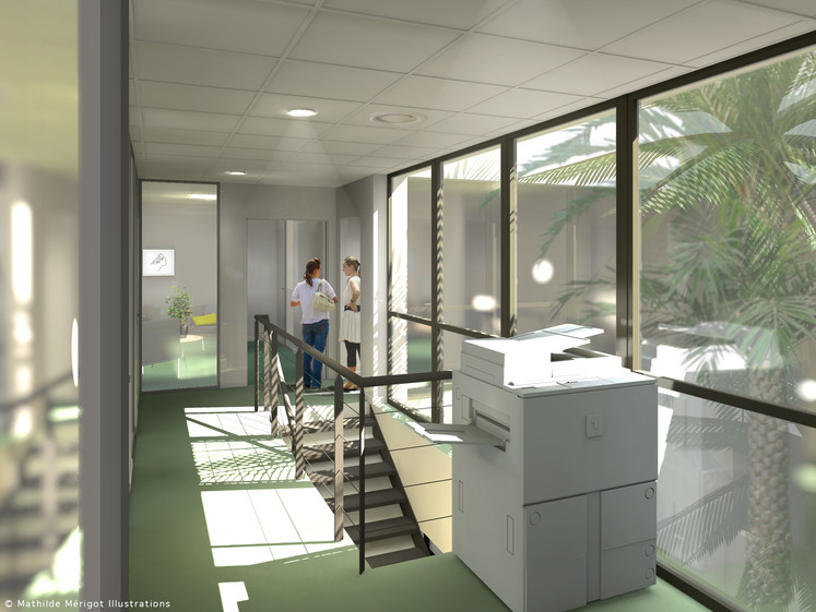 Bureaux pour opération immobilière à Montfavet (84) Von Vinschtiger & Cavallero Architectes