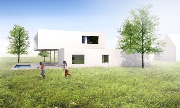 Maison individuelle en Alsace Fluor Architecture