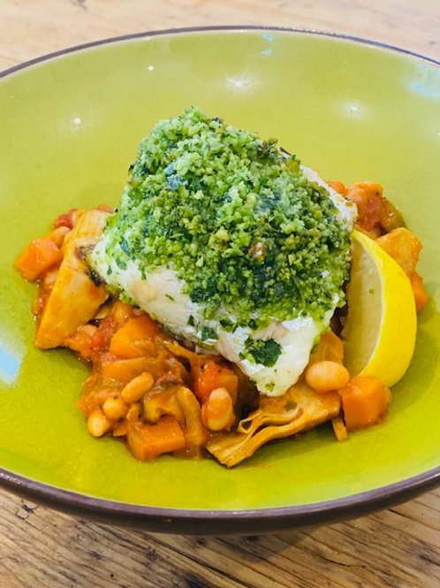 Sea Bass- Frozen Dinner Dish (for one)