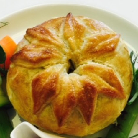 Frozen Individual Pie- Truffled Chicken and Mushroom Pie