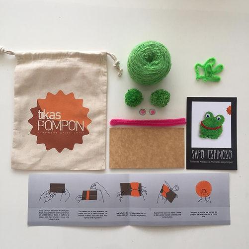 kit materiales 14.990 + envio