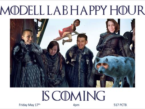Modell Lab hosts MBG happy hour