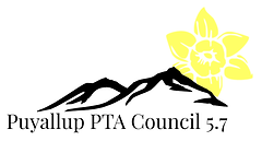 Puyallup PTA Council 5.7 logo