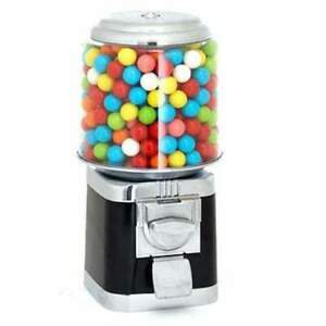 Kobe Bryant Black Gumball Machine with Decal