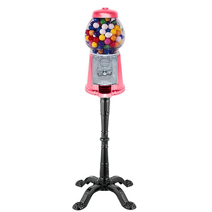 """Gloss Watermelon  15"""" Tall Gumball Machine with Stand + 1 lb. of Gumballs"""