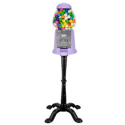 "Princess LIGHT PURPLE 15"" Classic Gumball Machine with Stand and Gumballs"