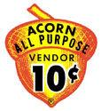 Acorn 10c Decal