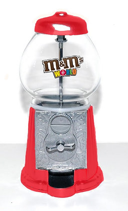 M&M Candy Dispenser with 1 .lb of  MMs