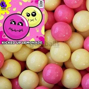 """Kicked Up Lemonade Sour Gumballs (1""""/850count)"""