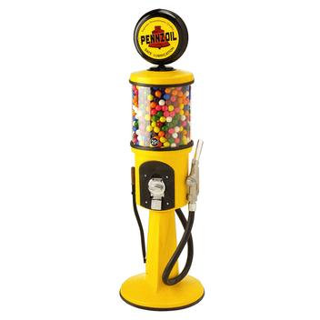 "4' 2"" Replica Gas Pump Gumball Machine"