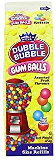 Dubble Bubble Gumballs, 20oz Carton (1)  by Dubble Bubble