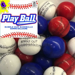 "Take Me Out To The Ballgame Baseball Gumballs (1""/850ct)"