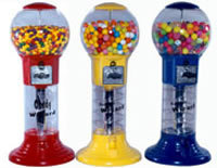 "27"" Mini Wizard Spiral Gumball Machine"