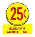 Northwestern Model 60 25c