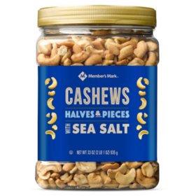 Cashews- 33 .oz