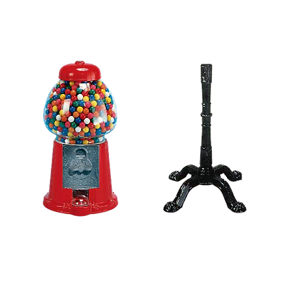 King Carousel with Stand with Gumballs