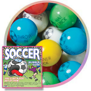 "Soccer Gumballs (1""/850 count)"