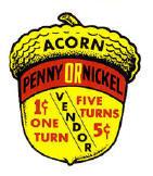 Acorn Penny/Nickel