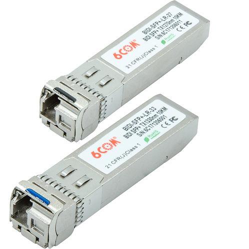 BIDI-SFP+-LR-27/33 SFP+ 10Km LC SM