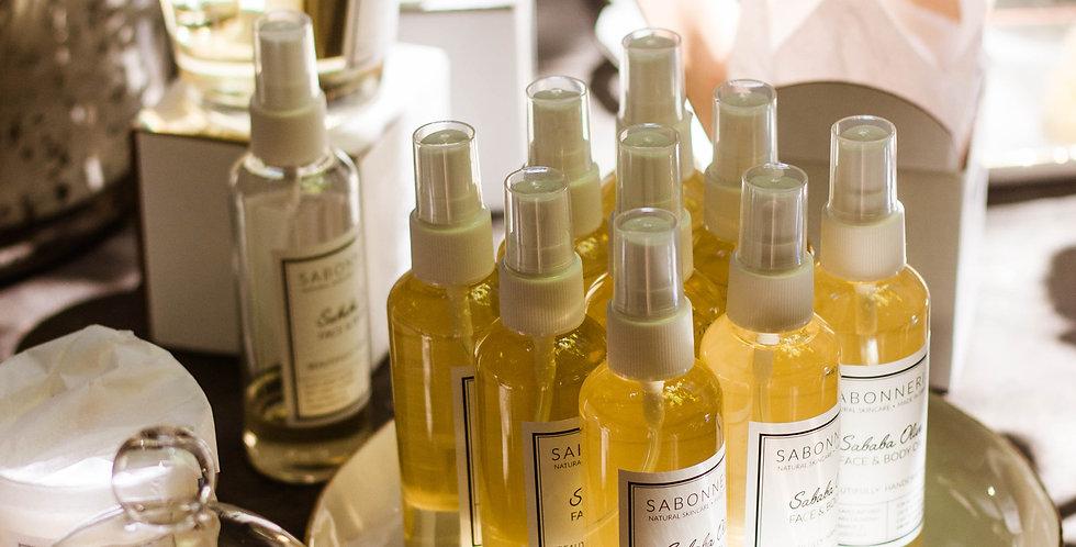 SABABA OLIVE. Face & Body oil. Sandal
