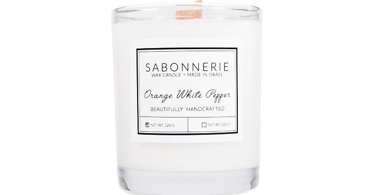 ORANGE & WHITE PEPPER