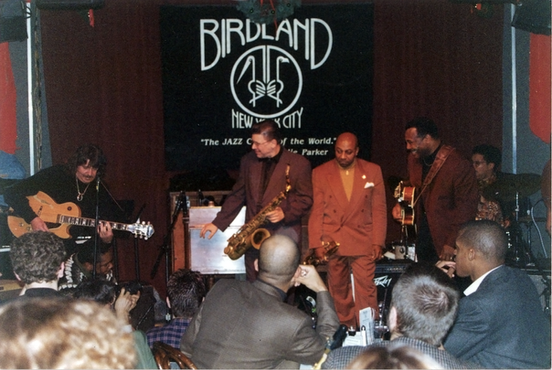 Richie Hart & George Benson at The Jack McDuff Birdland Benefit Concert