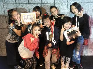 ZIPPY 優勝&特別賞 W受賞おめでとう☆@SPARKY キッズダンスコンテスト