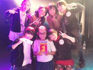 ORI☆N 準優勝おめでとう☆@KATANA ダンスコンテスト