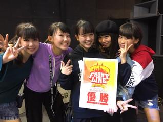 Can☆A☆Dia 優勝おめでとう♪@FRONT LINE