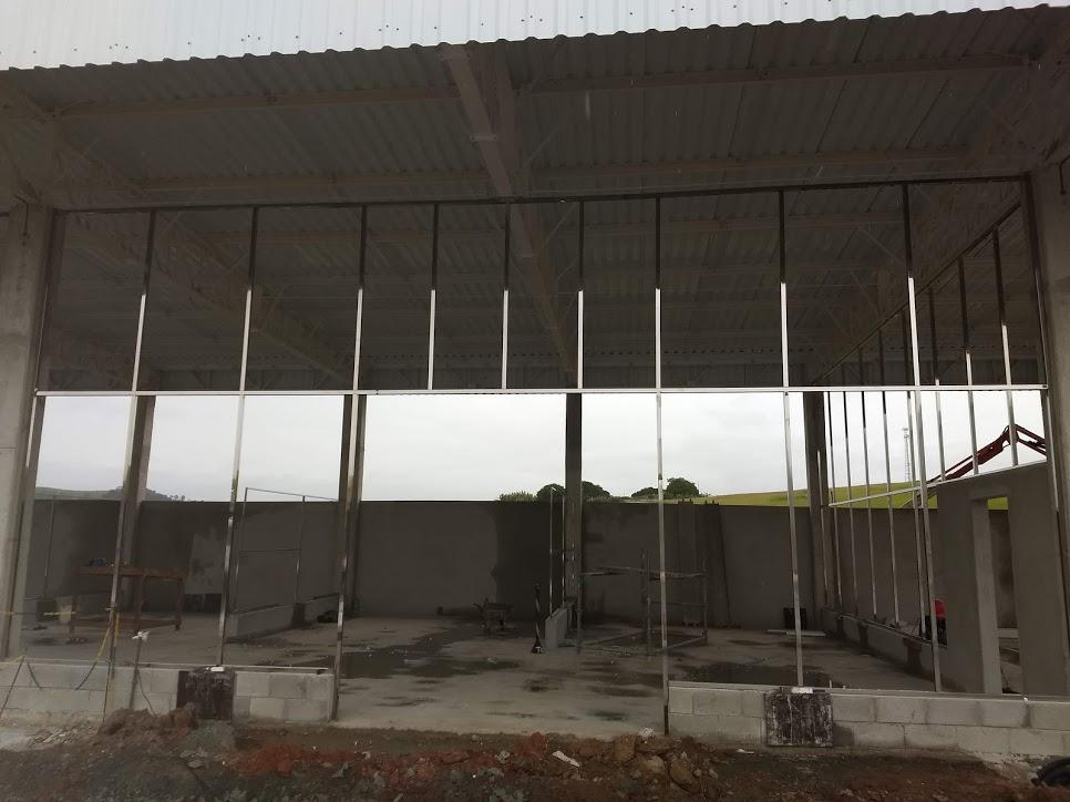 Estrutura em aço inox