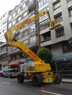 LIMPIEZA DE FACHADAS Y CRISTALES