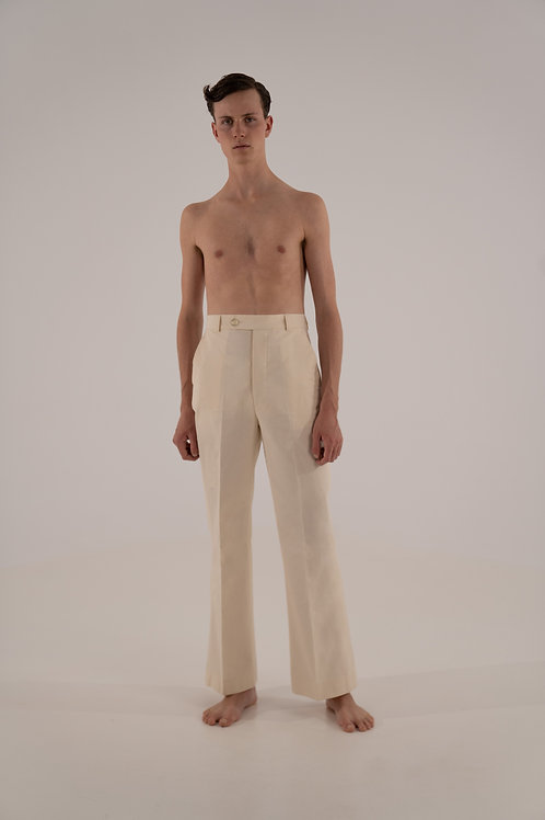 THE FLARED TROUSERS