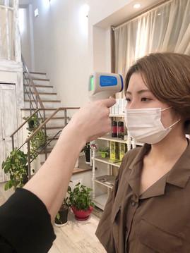 店内*新型コロナウイルス対策