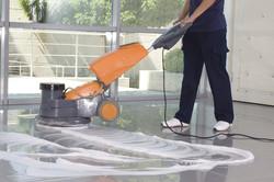 Nettoyage sols grande surface