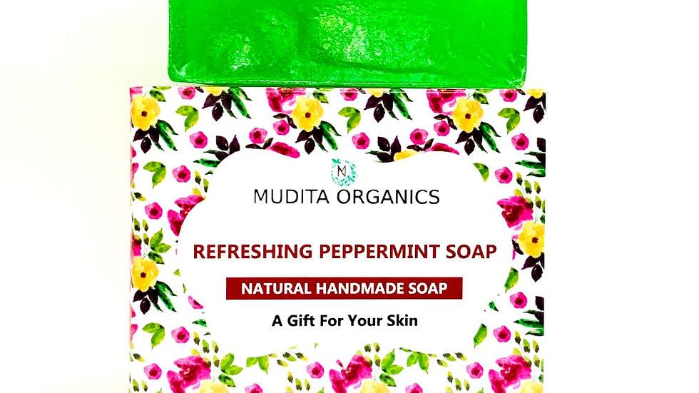 Peppermint Glycerin Soap