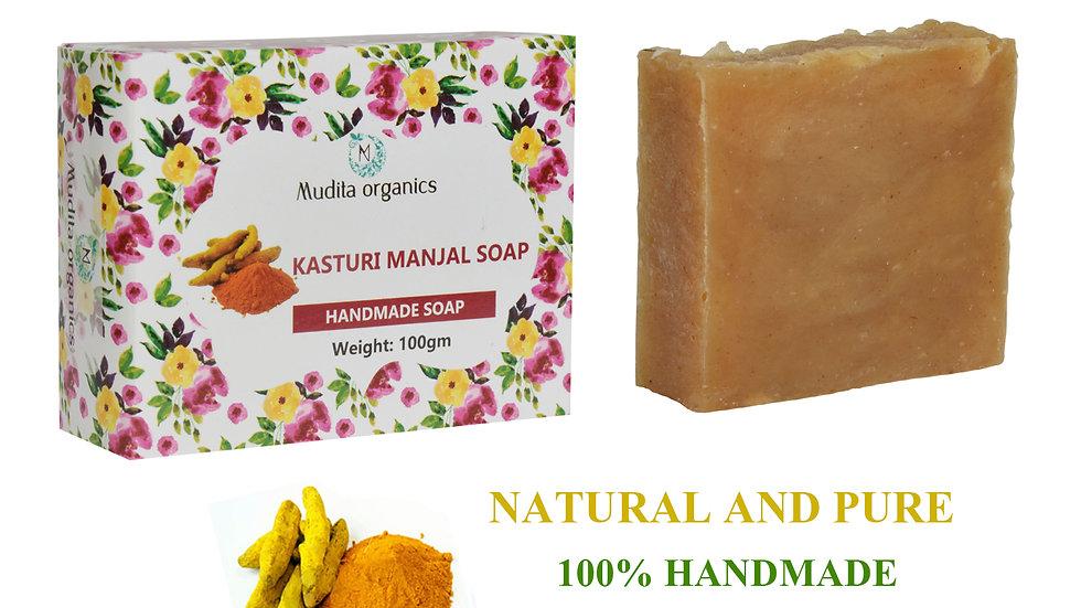 Kasturi Manjal Handmade Soap